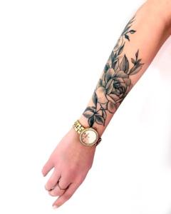 depilacja tatuażu